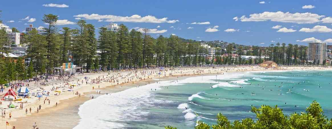Visto australia Manly beach